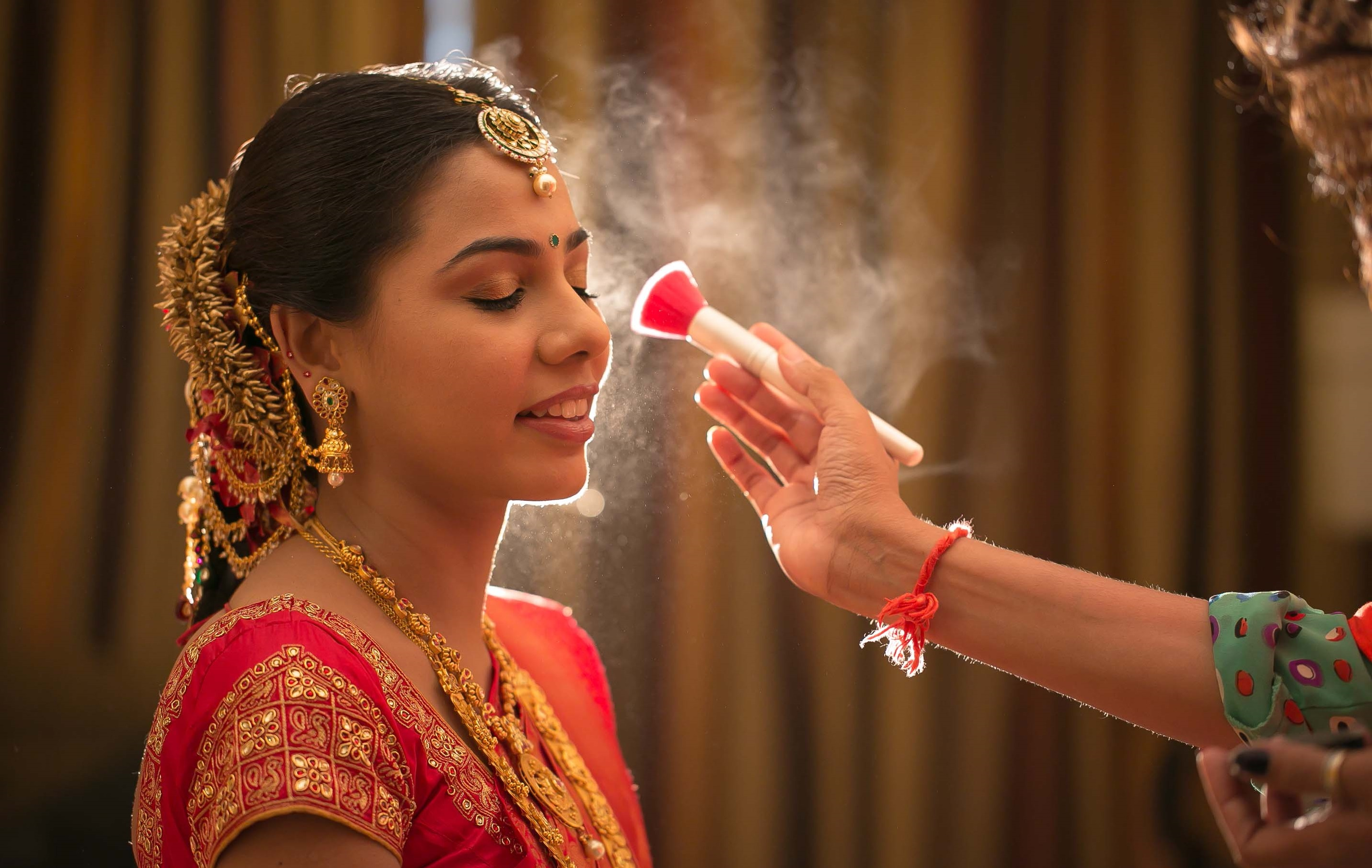 Bridal makeup in Karol bagh